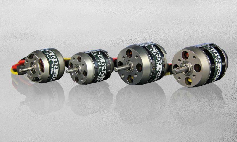 4 Brushless motors